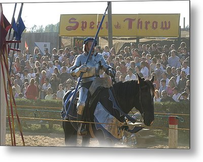 Maryland Renaissance Festival - Jousting And Sword Fighting - 1212169 Metal Print