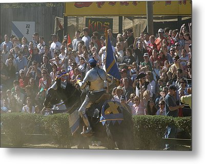Maryland Renaissance Festival - Jousting And Sword Fighting - 1212201 Metal Print by DC Photographer