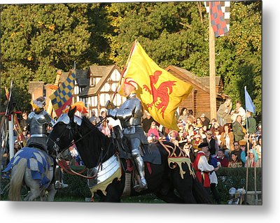 Maryland Renaissance Festival - Jousting And Sword Fighting - 121223 Metal Print