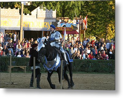 Maryland Renaissance Festival - Jousting And Sword Fighting - 121232 Metal Print by DC Photographer
