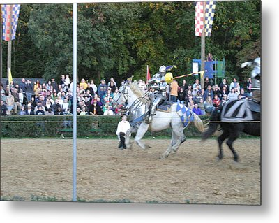 Maryland Renaissance Festival - Jousting And Sword Fighting - 121253 Metal Print
