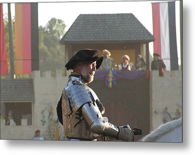Maryland Renaissance Festival - Jousting And Sword Fighting - 121263 Metal Print by DC Photographer