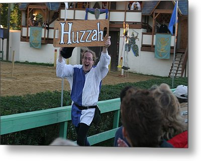 Maryland Renaissance Festival - Jousting And Sword Fighting - 12128 Metal Print by DC Photographer