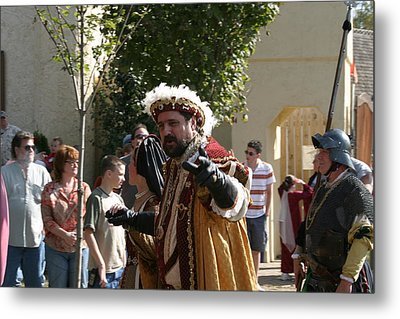 Maryland Renaissance Festival - Kings Entrance - 121211 Metal Print
