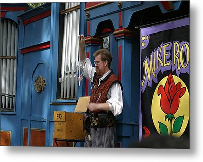 Maryland Renaissance Festival - Mike Rose - 12128 Metal Print