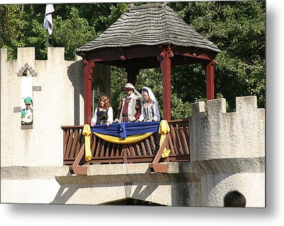Maryland Renaissance Festival - Open Ceremony - 121210 Metal Print
