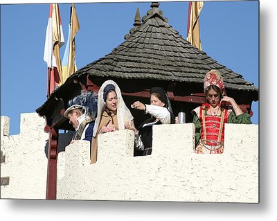 Maryland Renaissance Festival - Open Ceremony - 12124 Metal Print