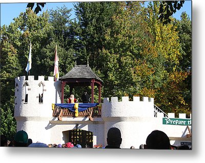 Maryland Renaissance Festival - Open Ceremony - 12126 Metal Print by DC Photographer