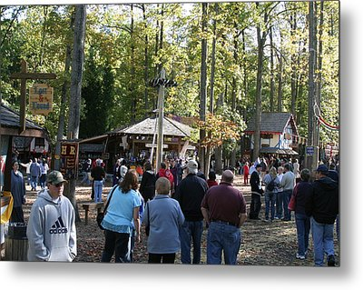 Maryland Renaissance Festival - People - 12121 Metal Print by DC Photographer