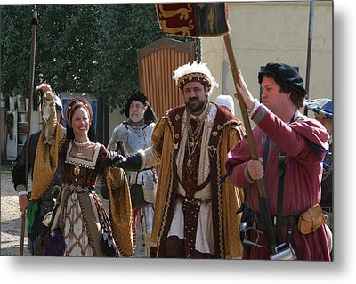 Maryland Renaissance Festival - People - 1212120 Metal Print by DC Photographer