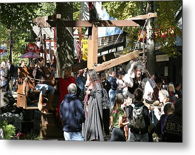Maryland Renaissance Festival - People - 121221 Metal Print by DC Photographer