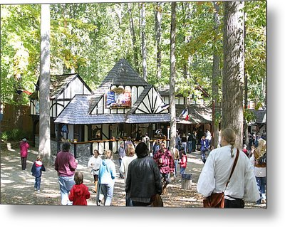 Maryland Renaissance Festival - People - 121222 Metal Print by DC Photographer