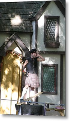 Maryland Renaissance Festival - People - 121226 Metal Print by DC Photographer