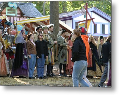 Maryland Renaissance Festival - People - 12123 Metal Print by DC Photographer