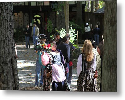 Maryland Renaissance Festival - People - 121233 Metal Print by DC Photographer