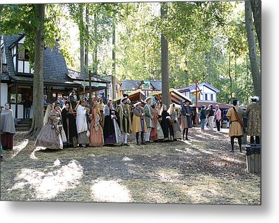 Maryland Renaissance Festival - People - 12125 Metal Print by DC Photographer