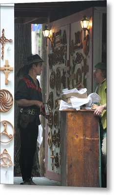 Maryland Renaissance Festival - People - 121294 Metal Print