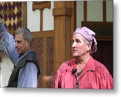 Maryland Renaissance Festival - Puke N Snot - 121218 Metal Print by DC Photographer