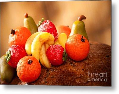 Marzipan Fruits Metal Print by Amanda Elwell
