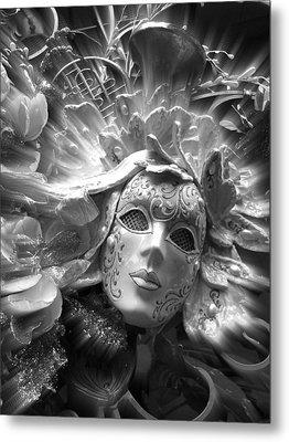 Metal Print featuring the photograph Masked Angel by Amanda Eberly-Kudamik