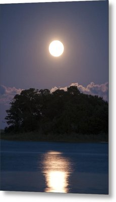 Masonboro Moonrise Metal Print
