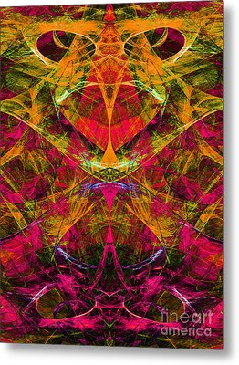 Masquerade 20140128 Vertical Metal Print by Wingsdomain Art and Photography