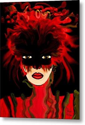 Masquerade Ball Metal Print by Natalie Holland