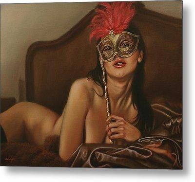 Masquerade I Metal Print by John Silver