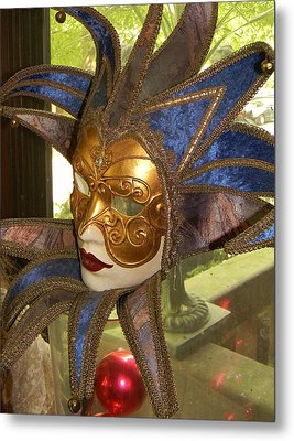 Metal Print featuring the photograph Masquerade by Jean Goodwin Brooks