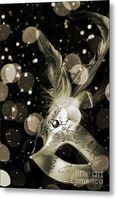 Masquerade Metal Print by Jelena Jovanovic