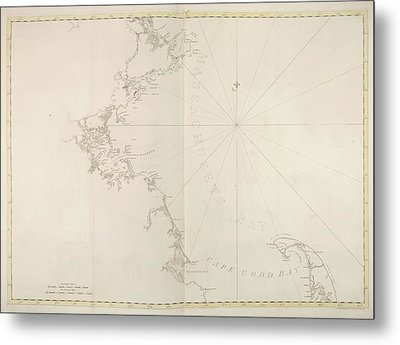 Massachusetts Bay Metal Print by British Library