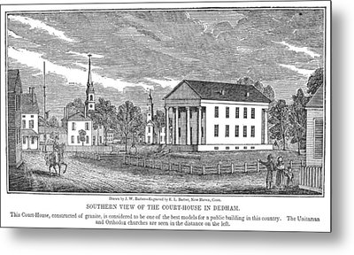 Massachusetts Dedham Metal Print by Granger