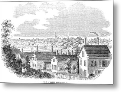 Massachusetts Salem, 1854 Metal Print by Granger