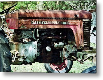 Massey-ferguson Metal Print by Patricia Greer