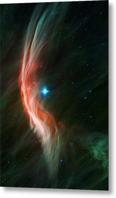 Massive Star Makes Waves Metal Print by Adam Romanowicz