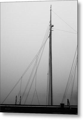 Mast And Rigging Metal Print by Bob Orsillo