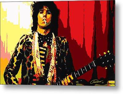 Master Keith Metal Print by John Travisano