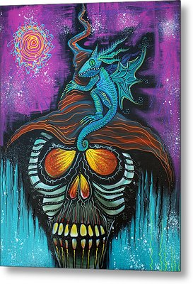 Master Of Dragons Metal Print by Laura Barbosa