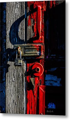 Master Of The Old Red Barn Metal Print by Bob Orsillo