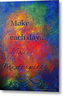 Masterpiece Metal Print