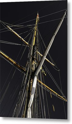 Masts Metal Print