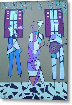 Matadores Of Music Lll Metal Print