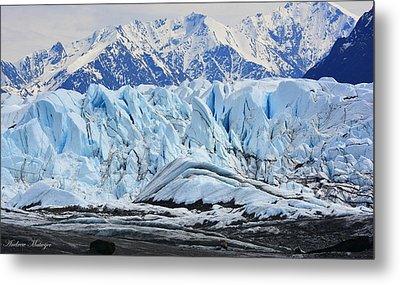 Matanuska Glacier Metal Print