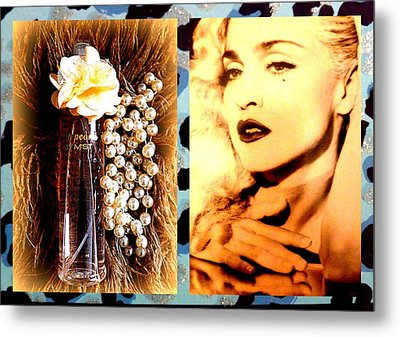 Material Girl Metal Print by The Creative Minds Art and Photography