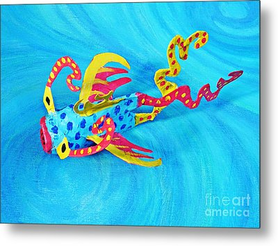 Matisse The Fish Metal Print by Sarah Loft