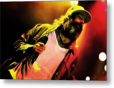 Matisyahu Live In Concert 2 Metal Print by Jennifer Rondinelli Reilly - Fine Art Photography