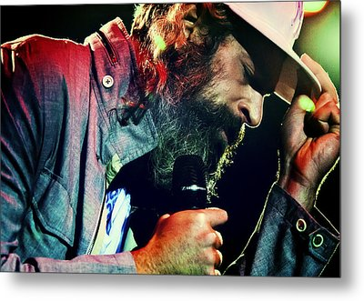 Matisyahu Live In Concert 7 Metal Print by Jennifer Rondinelli Reilly - Fine Art Photography