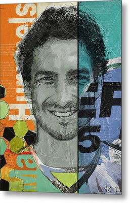 Mats Hummels - B Metal Print by Corporate Art Task Force