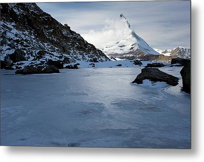 Matterhorn From Switzerland Metal Print by Bob Gibbons