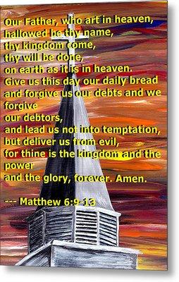 Matthew 6  Metal Print